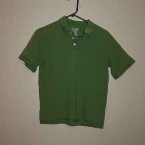 $FINAL$ L.L. Bean Green Polo